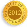 Lower Cape Cod Best Antiques Gold Award for 2012