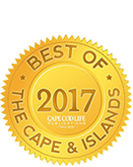 Lower Cape Cod Best Antiques Gold Award for 2017