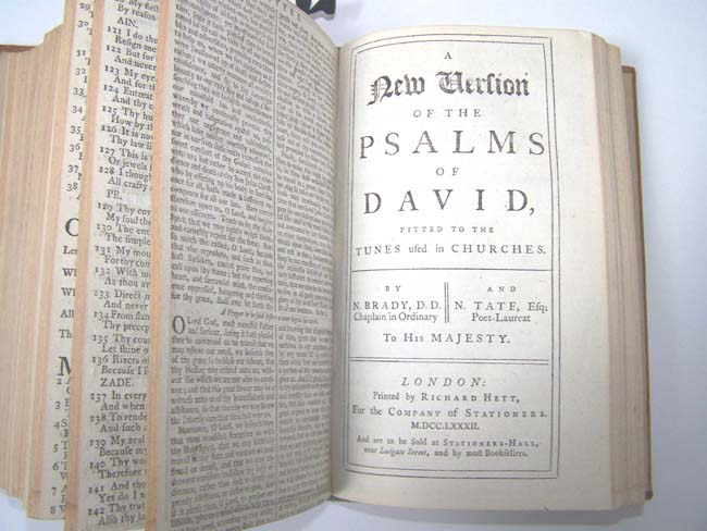click to view larger image of A Beautifully Illustrated 18th century Book of Common Prayer printed in Oxford in 1781