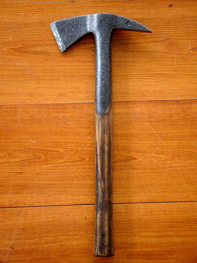 click to view larger image of A rare British Naval Boarding Axe circa 1780-1810