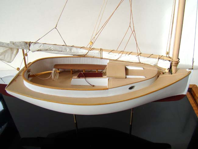 click to view larger image of A fine scratch built model of a circa 1900