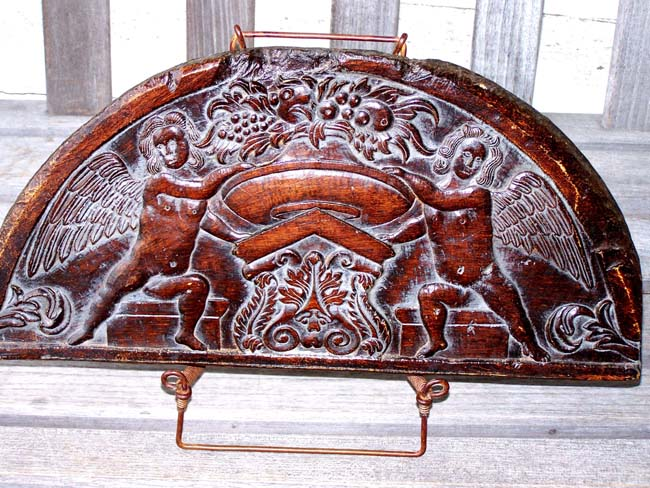 click to view larger image of A Reproduction of a late 17th or early 18th century English carved oak panel