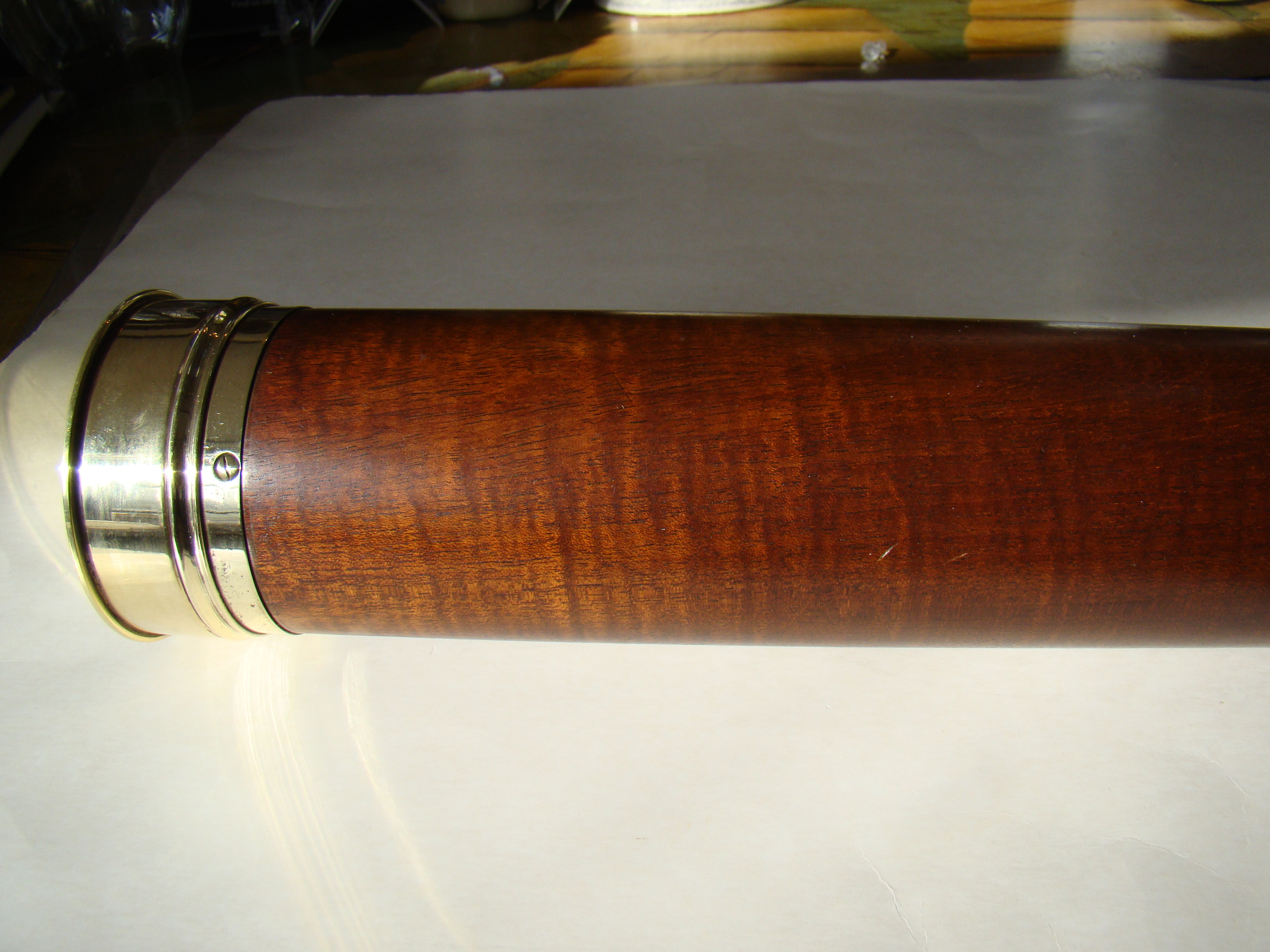 click to view larger image of A magnificent late 18th century table mount telescope by Dolland of London