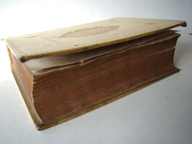 click to view larger image of  A fine Vellum bound book entitled