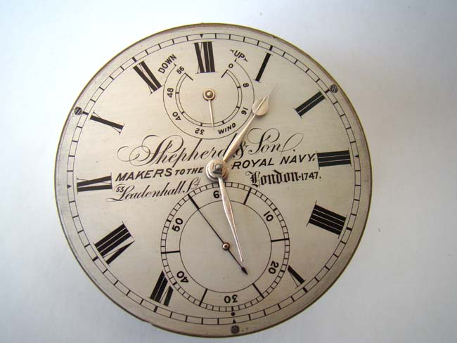 click to view larger image of An Antique English Marine Chronometer by Shepherd & Sons, 'Makers to the Royal Navy,' circa 1870