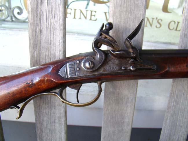click to view larger image of A fine Pennsylvania Flintlock Long Rifle by J J Henry of Lehigh/Northampton County circa 1830