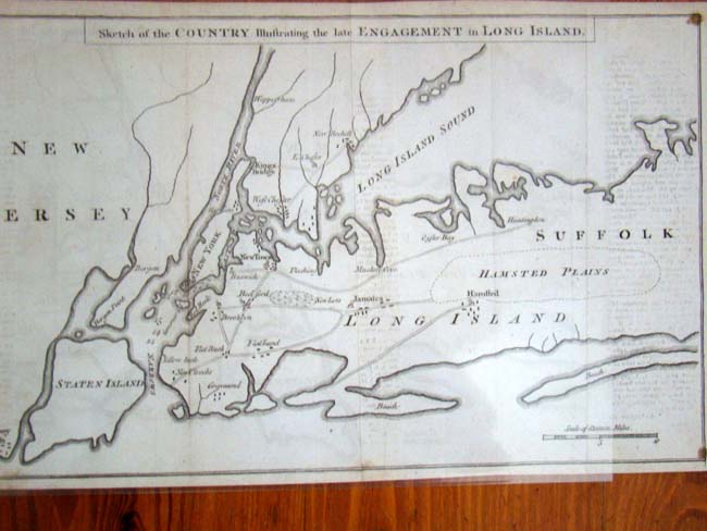 click to view larger image of A Revolutionary War map entitled