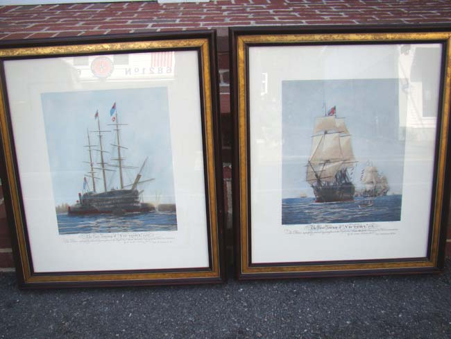 click to view larger image of A fine pair of hand colored engravings of