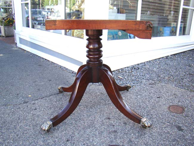 click to view larger image of A Magnificent early 19th century English Regency period mahogany breakfast table circa 1815