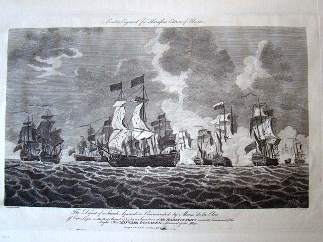 click to view larger image of A fine 18th century engraving entitled