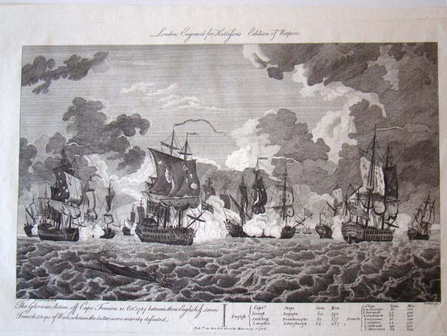 click to view larger image of A rare 18th century engraving entitled