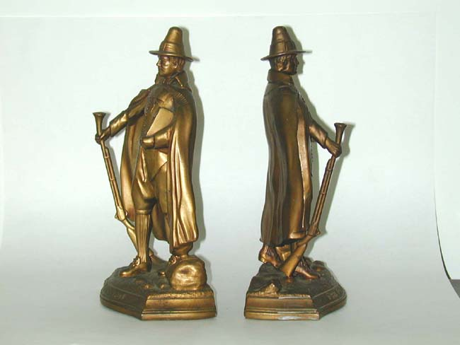 click to view larger image of An Antique Pair of Bronzed