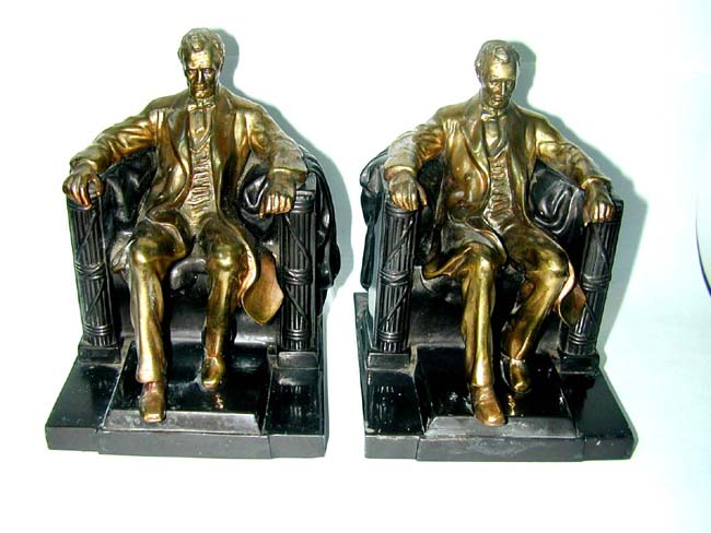 click to view larger image of A Pair of Abraham Lincoln (