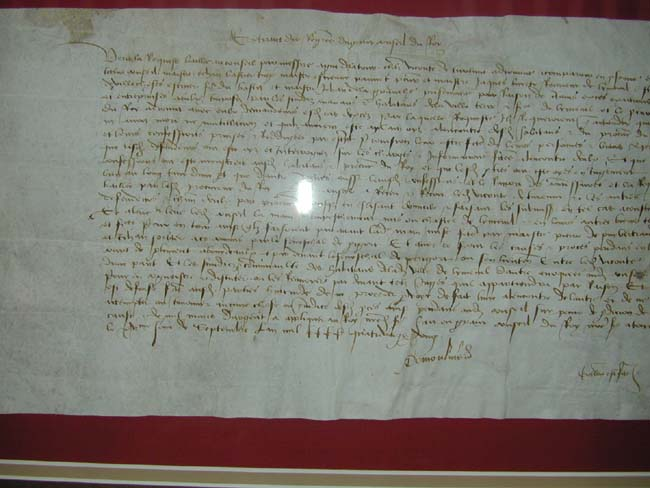 click to view larger image of A Late 15th century French Document Dated September 15, 1481
