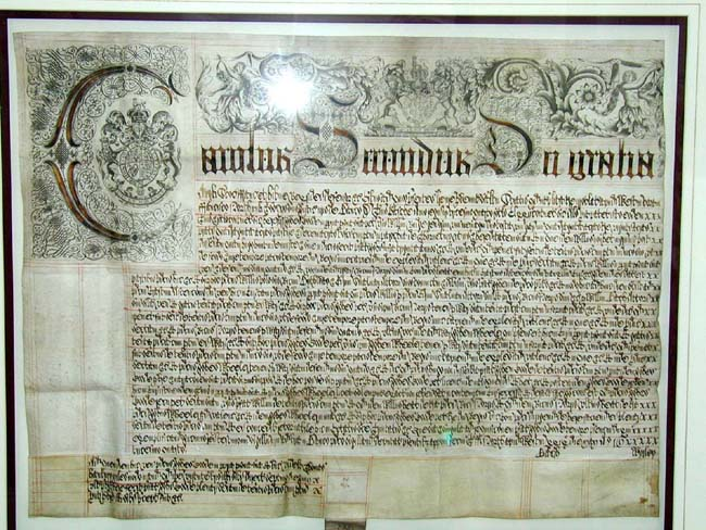 click to view larger image of A Beautiful 17th century English Document from the Reign of King Charles II 1660-1685