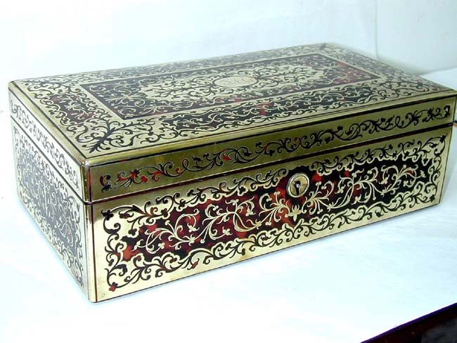 click to view larger image of An Exceptionally Fine 19th century Boule Box