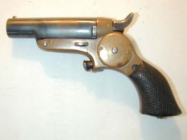 click to view larger image of A Starr Arms Co. .41 cal. Single Shot DERINGER circa 1870