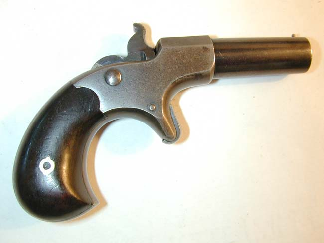 click to view larger image of A Remington-Elliot .41 cal. single shot DERINGER circa 1870
