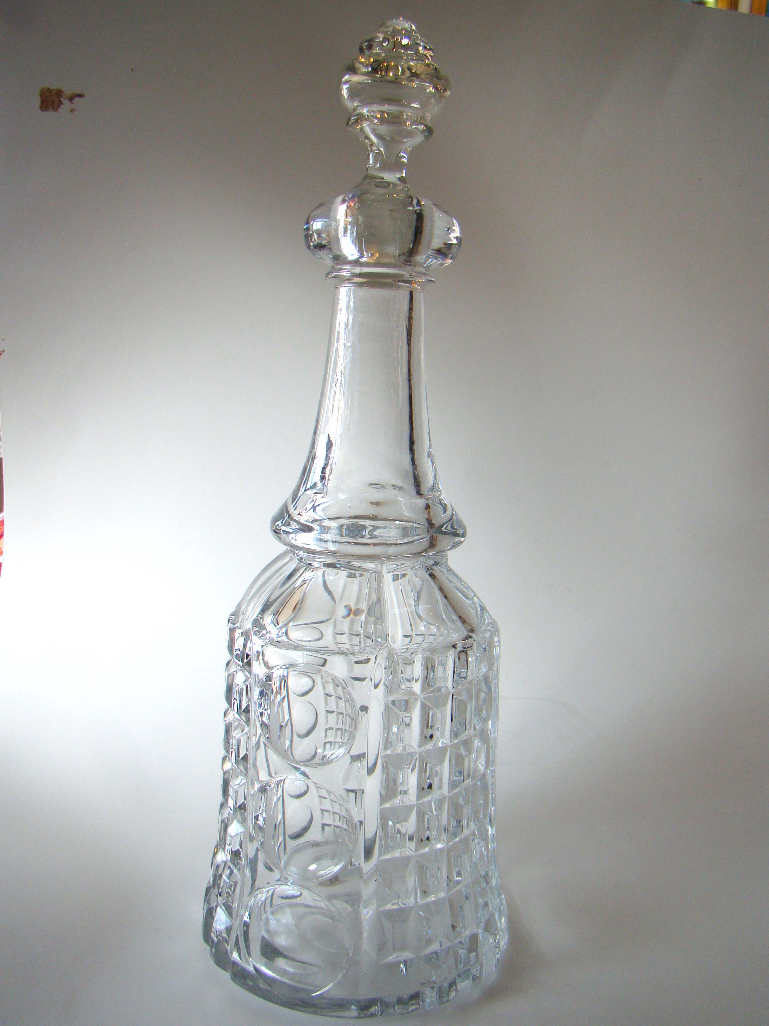 click to view detailed description of A rare antique Sandwich glass
