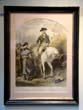 click to view detailed description of A hand colored engraving of George Washington saying