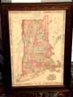 click to view detailed description of A beautiful Civil War era Map of New England by Johnson published in 1864