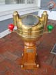 click to view detailed description of A vintage circa 1920-1940 Yacht Binnacle made by