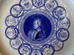 click to view detailed description of A George Washington Bicentennial plate made by Mottahedeh in 1976