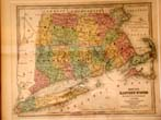 click to view detailed description of Smiths Map of the Eastern States published in 1843