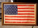 click to view detailed description of An attractive 45 star American Flag made official on July 4, 1896
