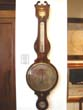 click to view detailed description of A fine English mahogany wheel barometer with 10' dial by Joseph Somalvico circa 1835