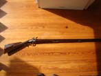 click to view detailed description of A contemporary Revolutionary War style Pennsylvania Flintlock Long Rifle