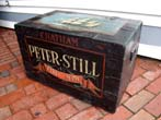 click to view detailed description of A charming 19th century seaman's trunk inscribed