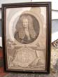click to view detailed description of A fine and rare 18th century mezzotint engraving of SIR ISAAC NEWTON