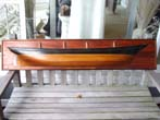 click to view detailed description of A fine Antique Half-Hull Model of a Four-Masted Schooner built in 1903