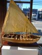 click to view detailed description of A highly detailed 1:16 scale model of an early 19th century British gunboat
