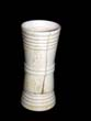 click to view detailed description of A 19th century ANTIQUE Bone Dice Cup