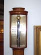 click to view detailed description of A Fine Contemporary Mahogany Stick Barometer made in Lisbon, Portugal, circa 1960