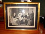 click to view detailed description of A steel mezzotint engraving of