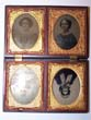 click to view detailed description of A Rare Four Photo Gutta Percha Case circa 1860
