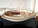 click to view detailed description of A fine scratch built model of a circa 1900