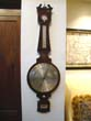 click to view detailed description of An English Wheel Barometer with 14 1/2