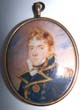 click to view detailed description of A fine Portrait Miniature of Capt. Hugh Cameron, One of Nelsons Captains, circa 1810