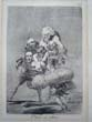 click to view detailed description of Francisco Goya--original etching from