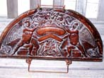 click to view detailed description of A Reproduction of a late 17th or early 18th century English carved oak panel