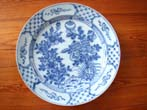 click to view detailed description of A fabulous 18th century Dutch Delft Charger circa 1740