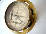 click to view detailed description of A Rare Surveyors Compass by Wellington, Crown Court, Soho, London circa 1800-1820