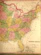 click to view detailed description of An originalhand colored Map of the United States published by Tanner in 1845