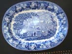 click to view detailed description of A 19th century WEDGWOOD serving platter circa 1840