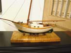 click to view detailed description of A charming scratch built model circa 1920 of a