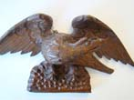 click to view detailed description of A wonderful carved American eagle circa 1870